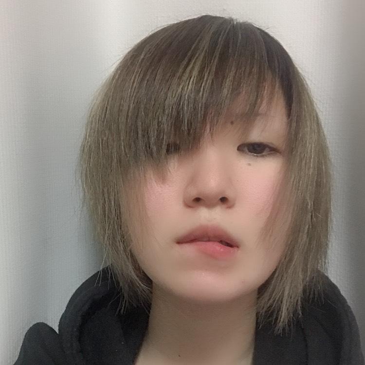 髪切ったののBefore画像