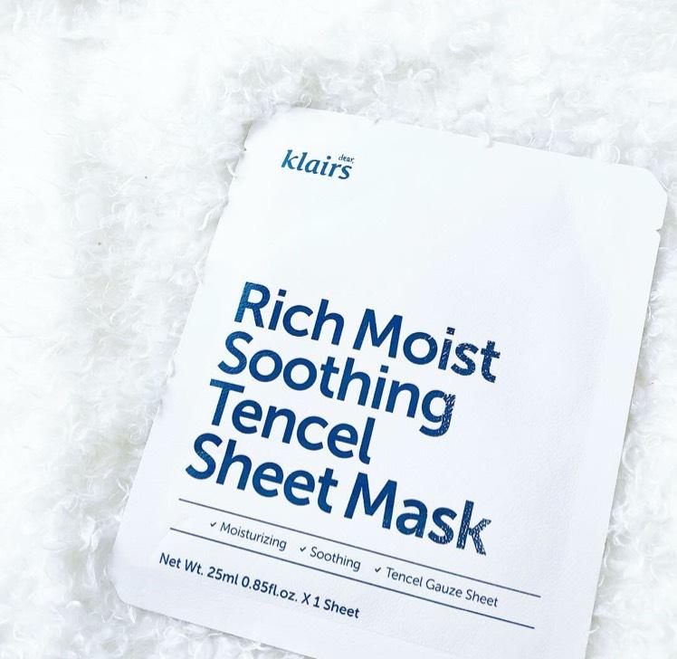 荒れ性の肌におすすめ!ちょっとお高めシートマスクのBefore画像