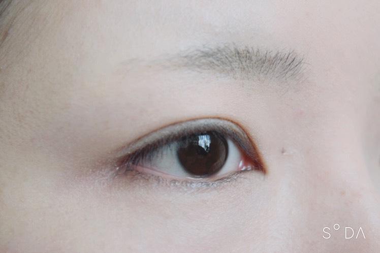 (濃)オレンジブラウンメイクのBefore画像