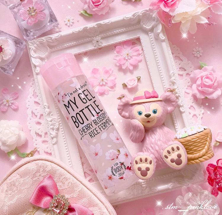 春限定商品♡可愛いパケのボディジェル♡のBefore画像
