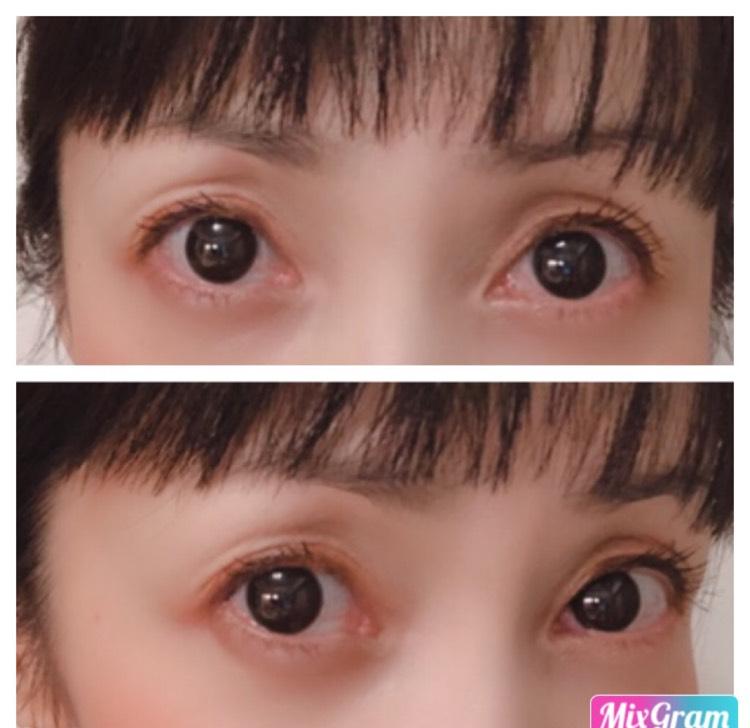 瞳に馴染むナチュラル黒目でドーリアイズ