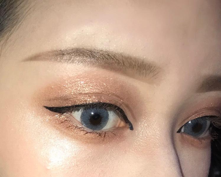 キリッと眉毛のAfter画像