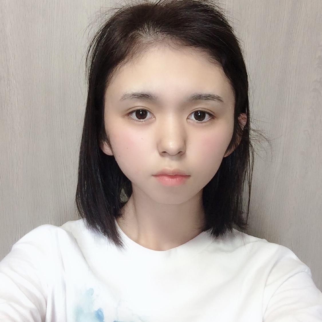 真面目ちゃんメイク(メガネ主役)のBefore画像
