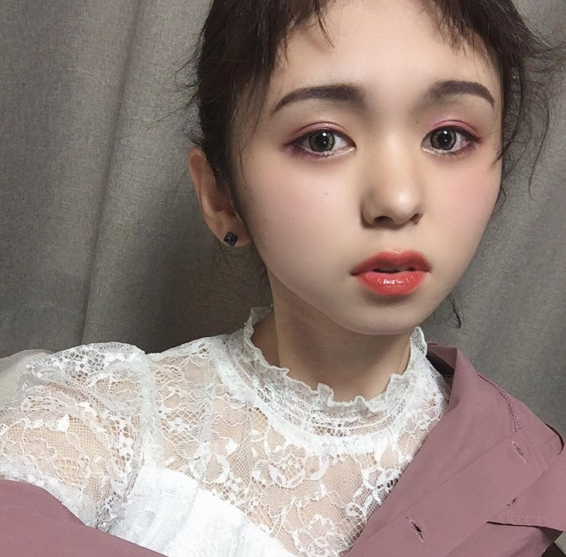 くすみピンクメイク♡