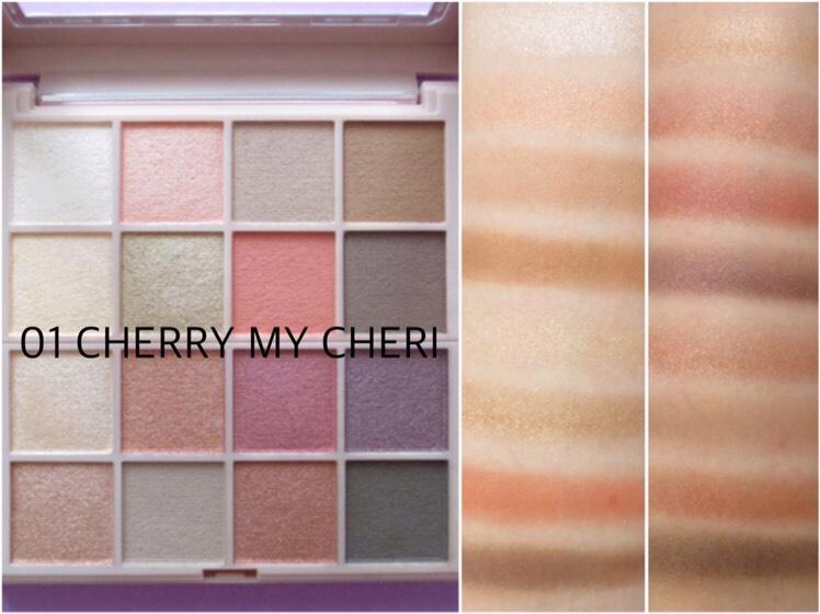 01:CHERRY MY CHERI(チェリーマイシェリー) チェリーの香り🍒平日も休日もデイリー使いしたい方へ イエベさん向き