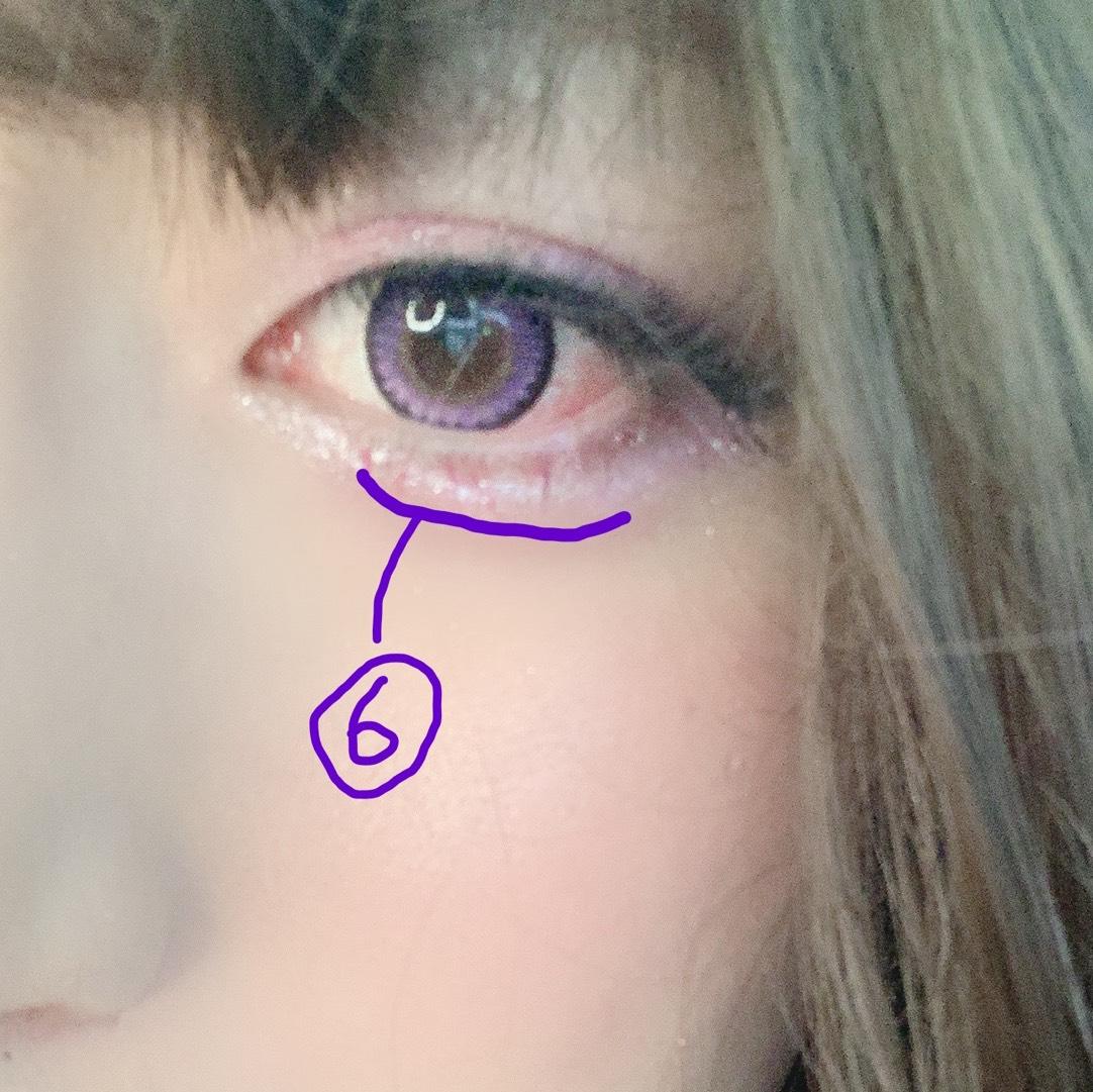 【涙袋影】エクセル リアルクローズシャドウ CS06 1番濃い色