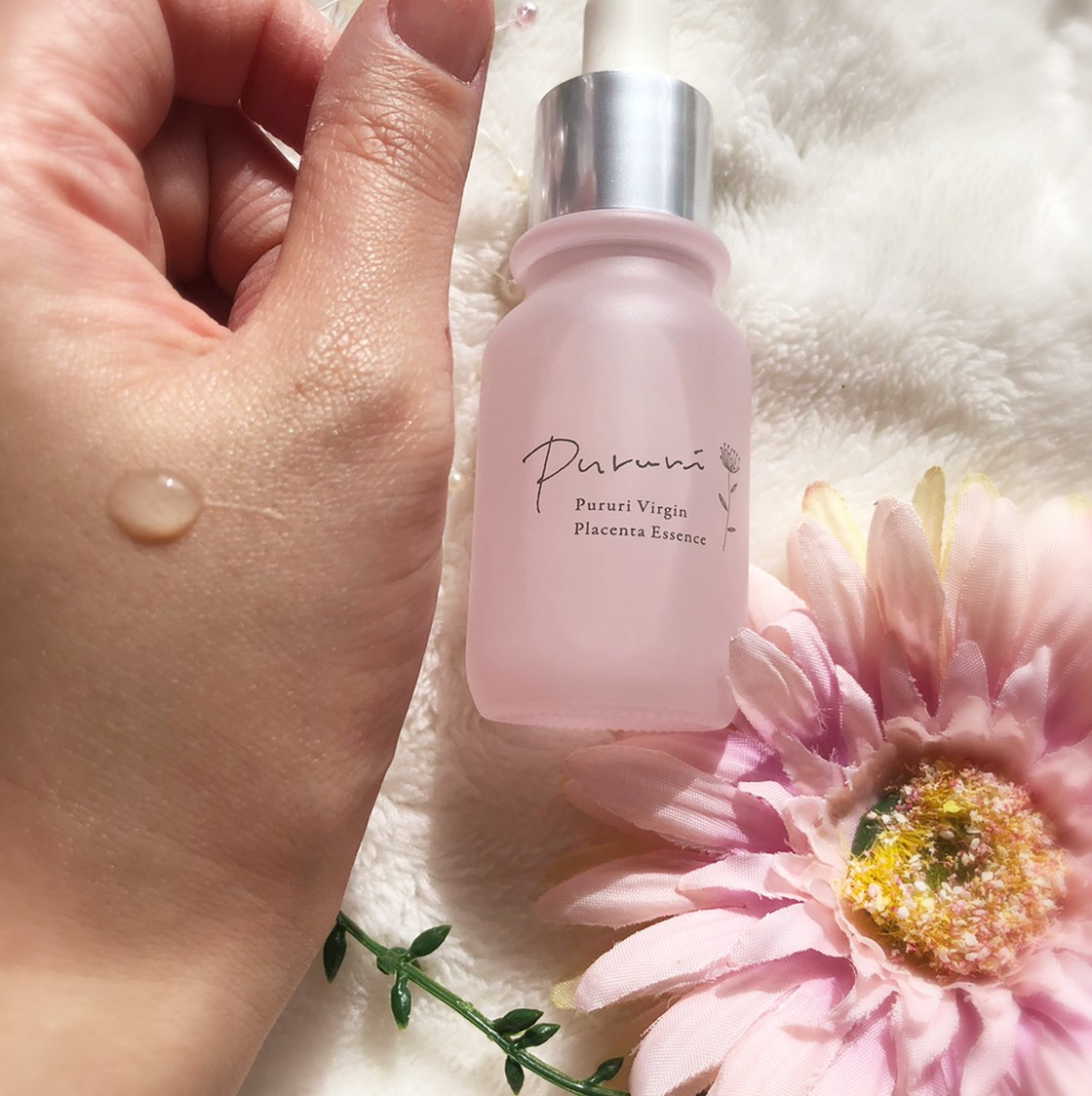 PURURI   100%バージンプラセンタ原液の美容液    瞬間浸透×史上最高濃度   肌の生まれ変わりに着目した瞬間浸透の プラセンタ美容液です❤️❤️❤️