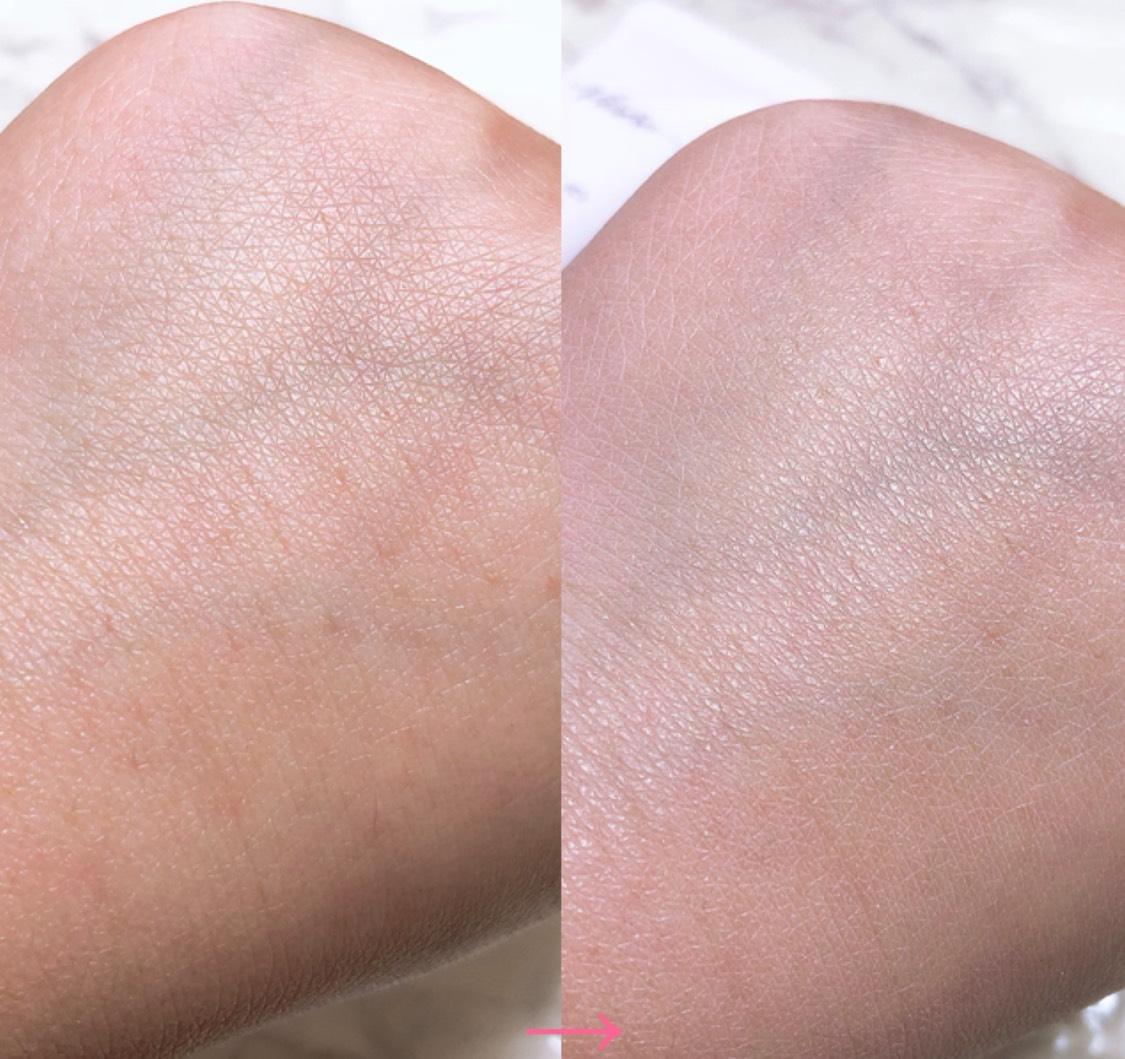 【Visee 】透明感アップ!ふんわり毛穴もカバーしてくれる化粧下地のAfter画像