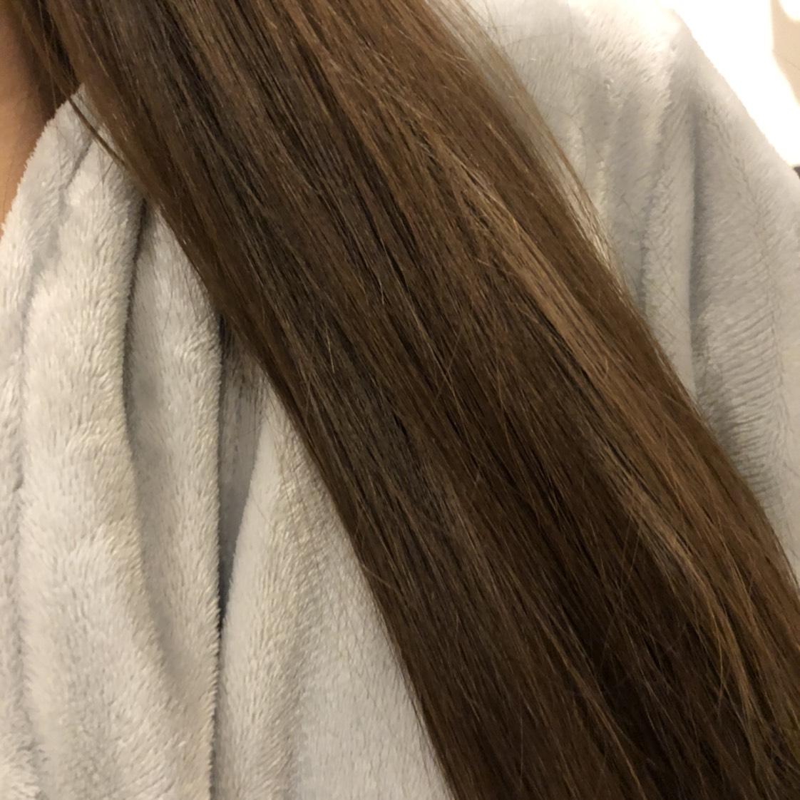 ロレアルパリの艶髪オイルのAfter画像