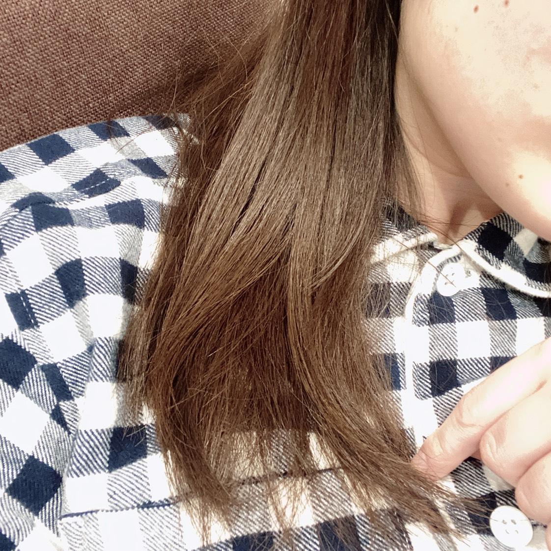 エクストラオーディナリーオイル エクラアンペリアル 艶髪オイルのAfter画像