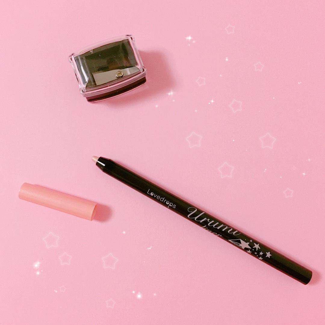 ラブドロップス 涙袋ウルミライナー🌸 コーラルピンク02 鉛筆削り付き