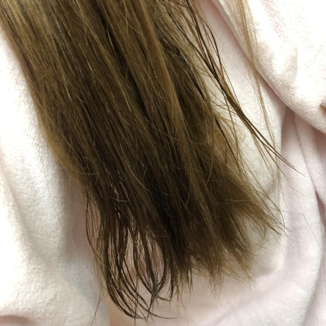 ロレアルのヘアオイルのAfter画像