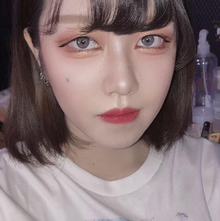 韓国アイドル?っぽメイク