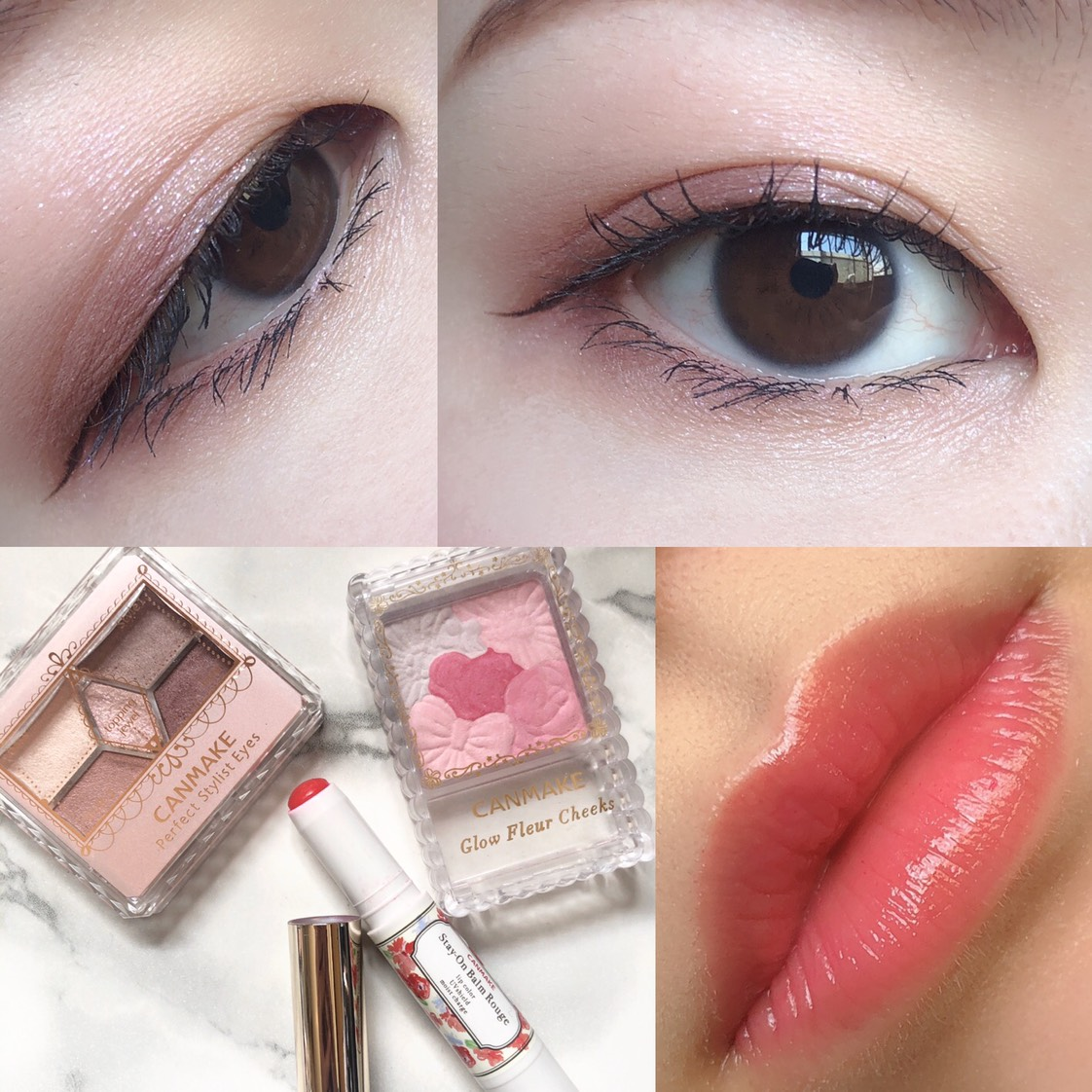 くすみピンクのAfter画像