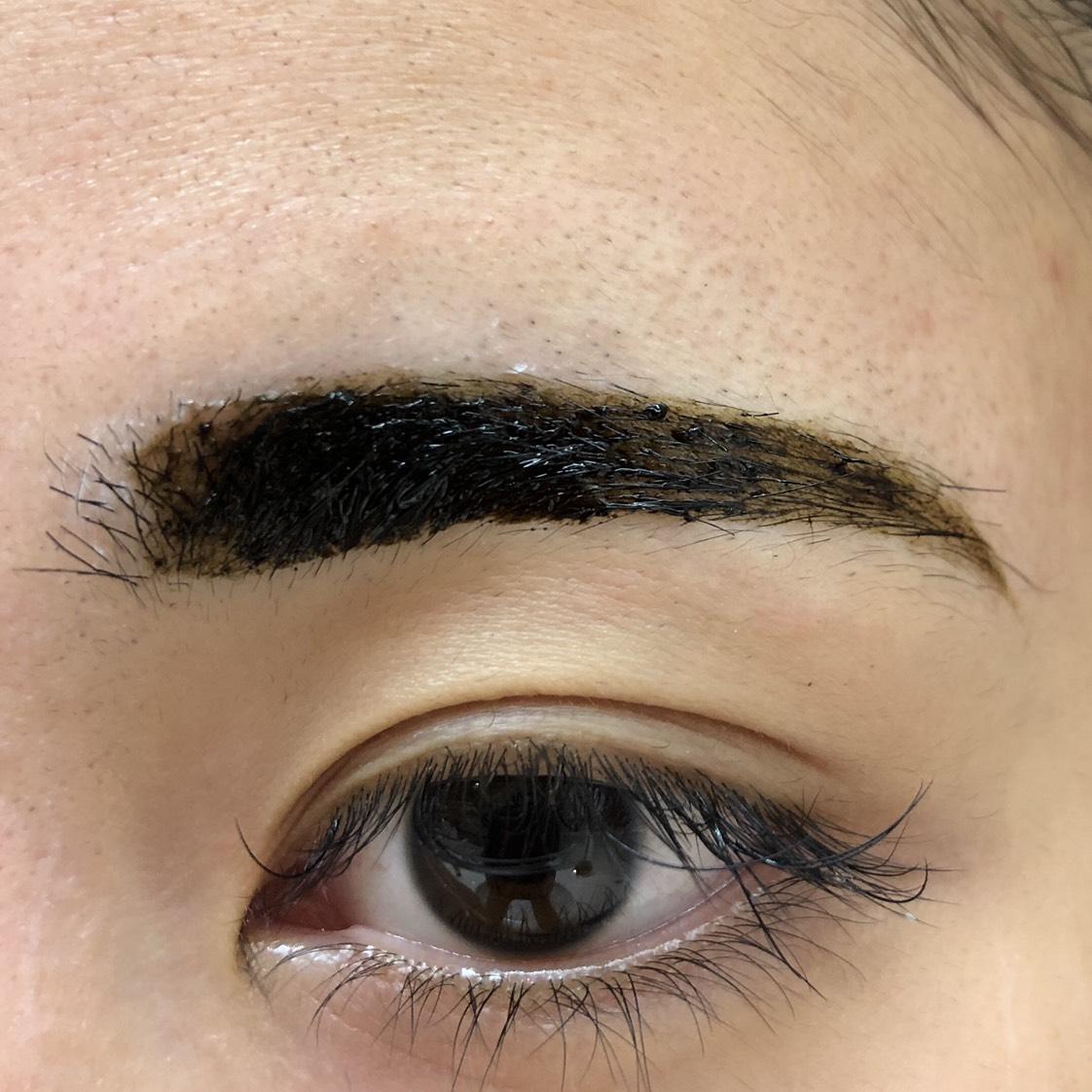 フジコの眉ティントのAfter画像