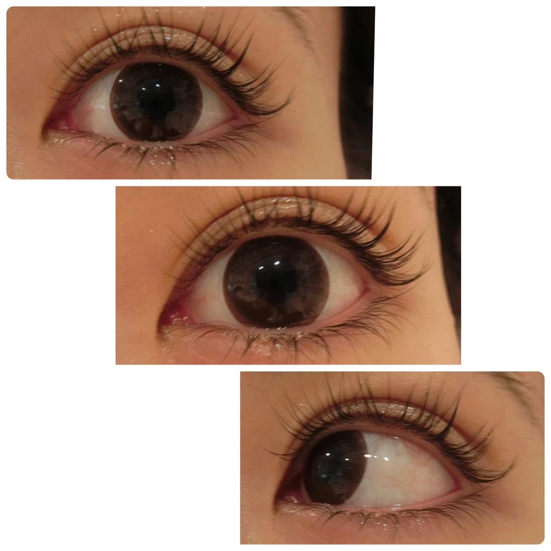 眼科で買える安心感! ナチュラルにくっきりする瞳! UVカットもできるみたいなので 普段使いにしています✨✌️